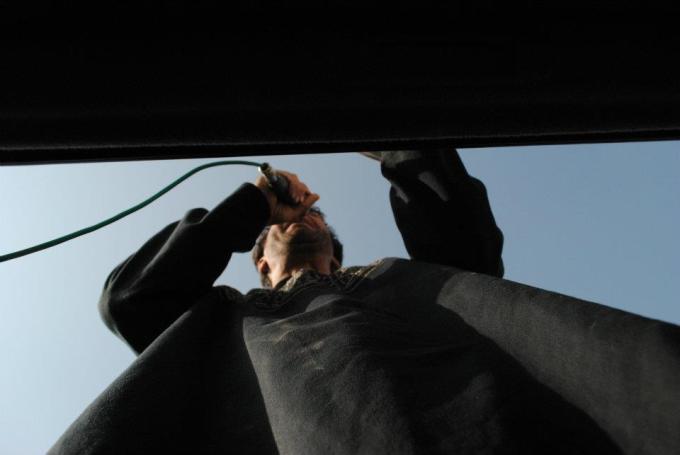 Beneath a preacher Ahura 2011